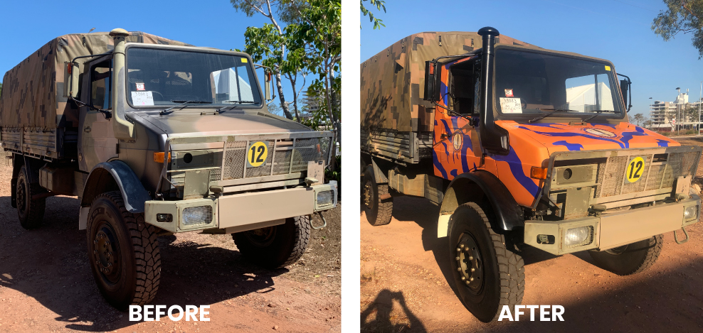 vehicle wrapping service
